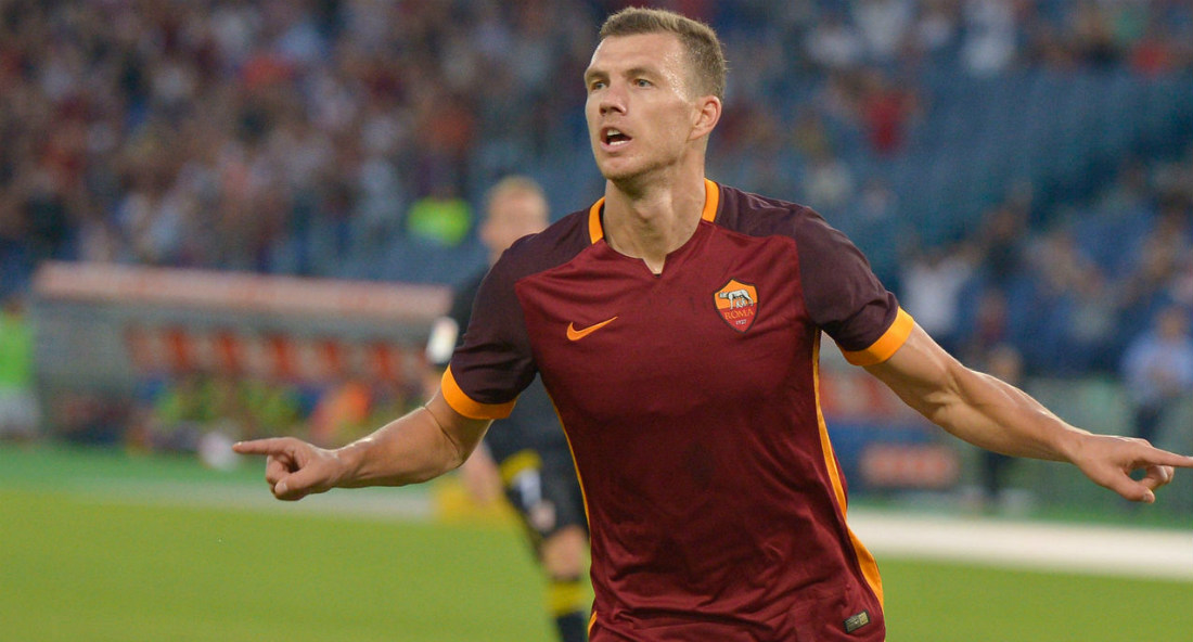 Edin Dzeko AS Roma